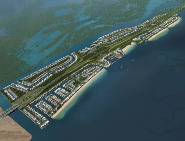 Announcement of Al Fahid Island Phase 1 Project