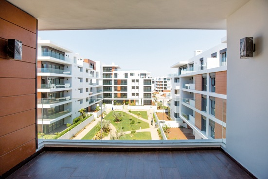 An article on the residential compound in Rabat : L'Orangeraie du Souissi