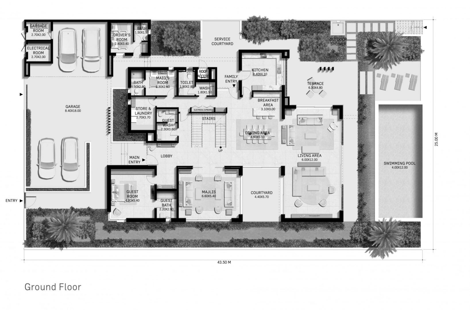 JDLA_Villa Oceana_Ground Floor